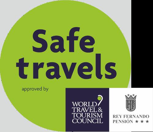 Safe Travels Hotel Rey Fernando Santiago de Compostela